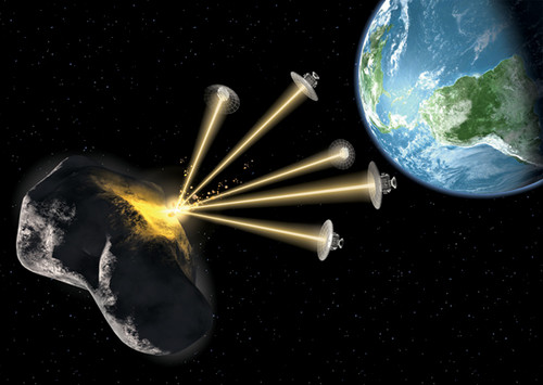 Desviar asteroide